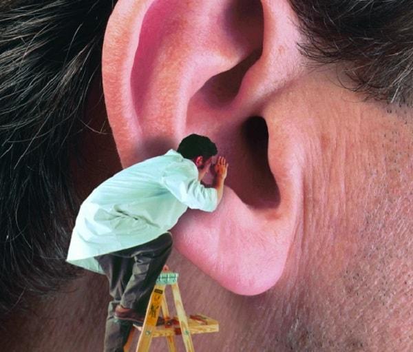 ניקוי אוזניים בדרך הנכונה